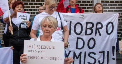 Protest KOD Ziobro do dymisji Fot. Sławek Wąchała