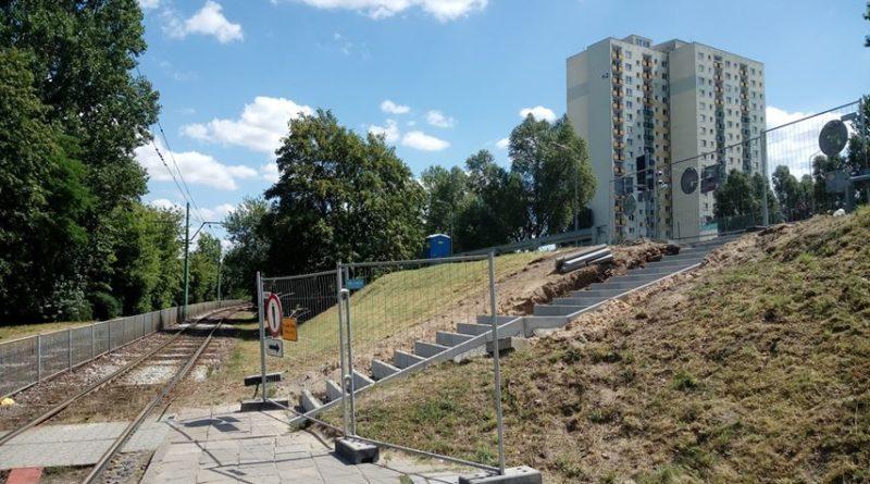 remont schodów Rataje fot. czytelnik