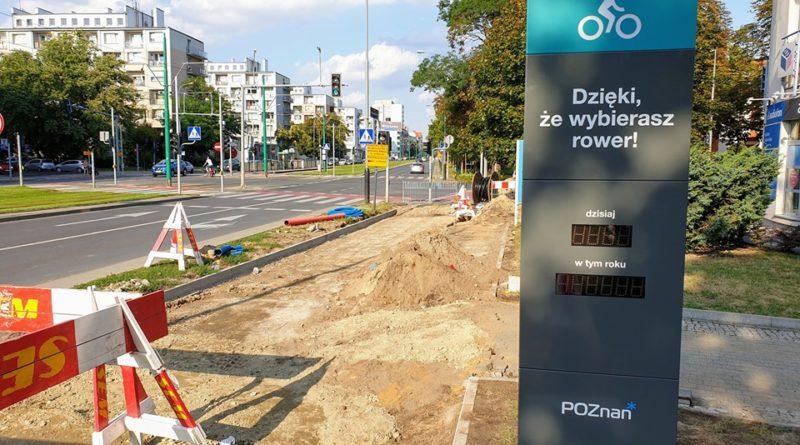 rowerowa trasa grunwaldzka fot. rowerowy poznan 800x445 - Poznań: Budowa Rowerowej Trasy Grunwaldzkiej dobiega końca
