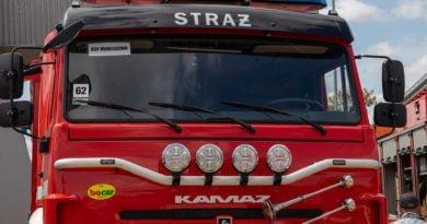 straz pozarna s. wachala 14 390x205 - Turek: Pożar w jednej z kamienic. Jest ofiara śmiertelna