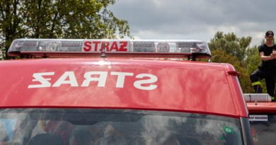 straz pozarna s. wachala 6 390x205 - Krotoszyn: Pożar starej cegielni