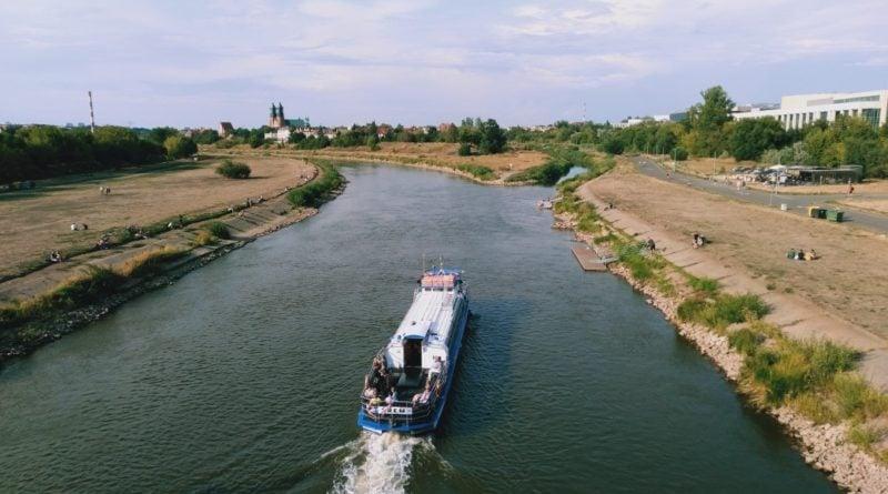 warta 3 800x445 - Poznań:  Żegluga na Warcie zawieszona z powodu stanu wody
