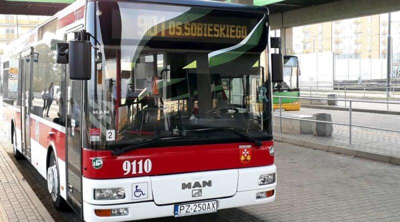 autobus linii 901 fot. ztm 800x445 - Poznań: Autobusy linii nr 901 będą kursować zmienioną trasą