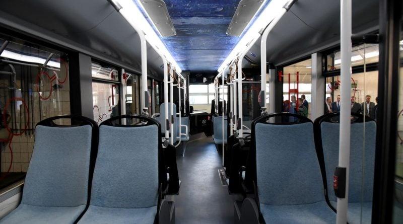 autobus wodorowy solarisa 4 fot. ump 800x445 - Poznań: Autobus na wodór - niestety, na razie tylko do oglądania