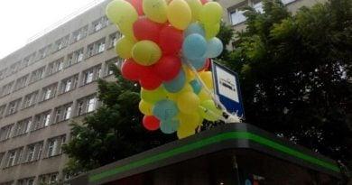 balony na przystanku wiosny ludow fot. ztm 1 390x205 - Poznań: Tydzień Zrównoważonego Transportu i weekendowe atrakcje