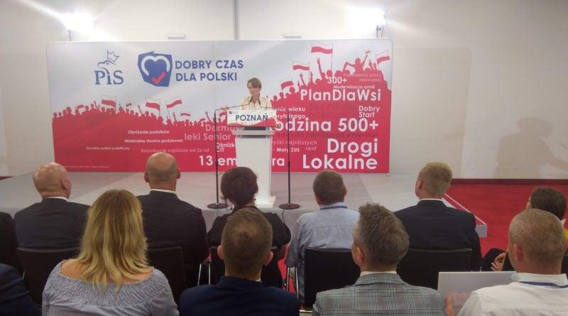 Jadwiga Emilewicz w Poznaniu Prawo i Sprawiedliwość