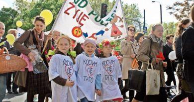 marsz dla zycia 390x205 - Poznań: Przez centrum miasta przejdzie Marsz dla Życia