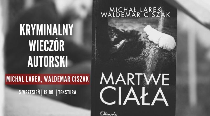 martwe ciala 800x445 - Poznań:  Martwe ciała - kryminalny wieczór autorski