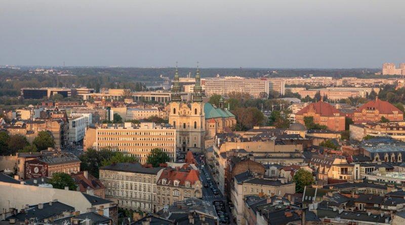 Miasto Poznań panorama Fot. Sławek Wąchała