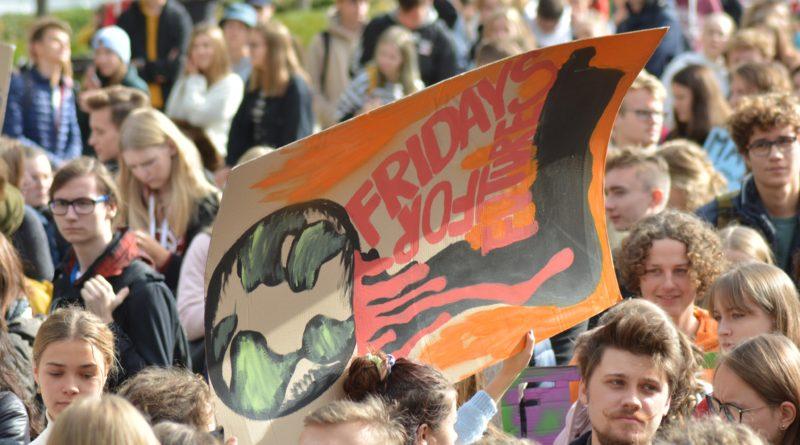 """mlodziezowy strajk klimatyczny fot. karolina adamska 29 800x445 - Poznań: Młodzieżowy Strajk Klimatyczny. """"Walczę o prawo do życia dla wszystkich!"""""""