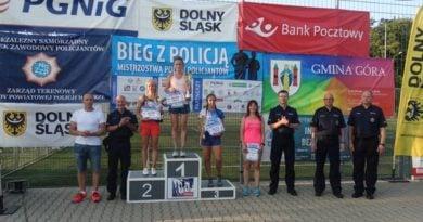 """monika kapera fot. kwp 390x205 - Złotów: Policjantka ze Złotowa zwyciężczynią """"Biegu z policją"""""""