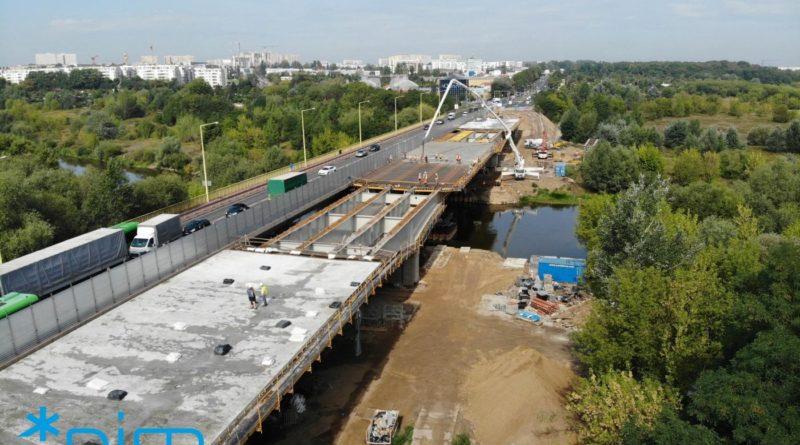 most lecha budowa fot. pim 800x445 - Poznań: Kolejna zmiana organizacji ruchu na moście Lecha