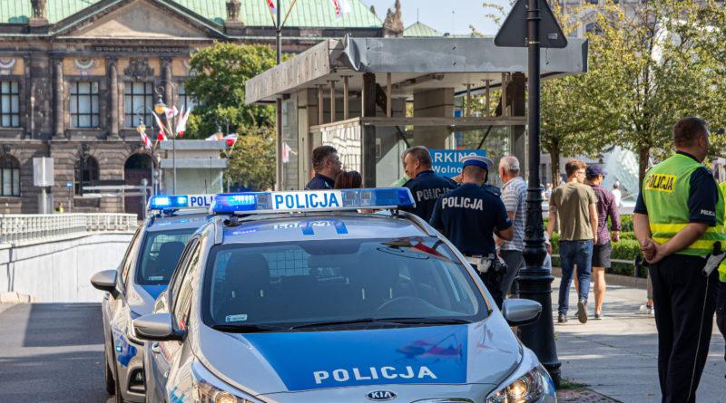 policja Fot. Sławek Wąchała