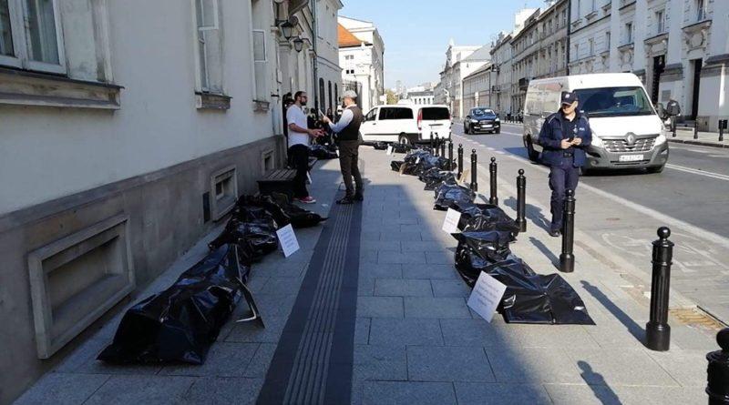 Porozumienie rezydentów OZZL flash mob