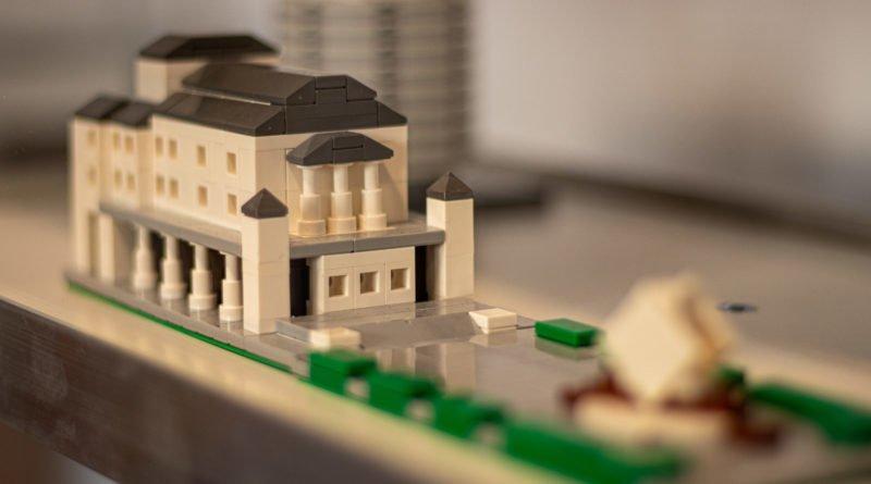 Poznań z kolcków Lego Mateusz Wawrowski Fot. Sławek Wąchała