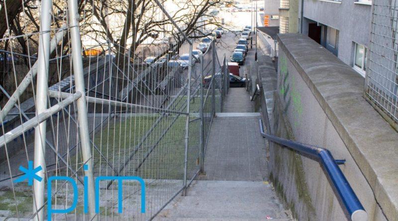 schody wilda6 fot.pim  800x445 - Poznań: Schody na Wildzie idą do remontu. Czy będą kolorowe i z kredkami?