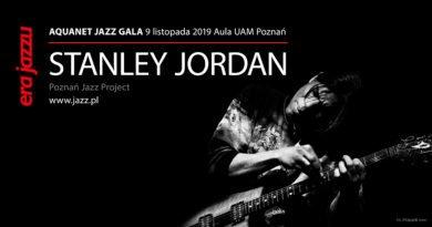 sj 1 390x205 - Legendarny gitarzysta Stanley Jordan realizuje w Poznaniu niezwykły projekt