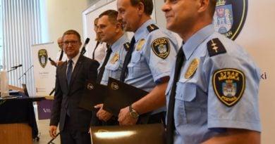 straznicy miejsc 7 390x205 - Poznań: Strażnicy miejscy świętują