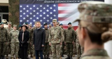 14 wojskowy oddzial gospodarczy 6 390x205 - Poznań został wybrany na siedzibę wysuniętego stanowiska dowodzenia V Korpusu Armii USA