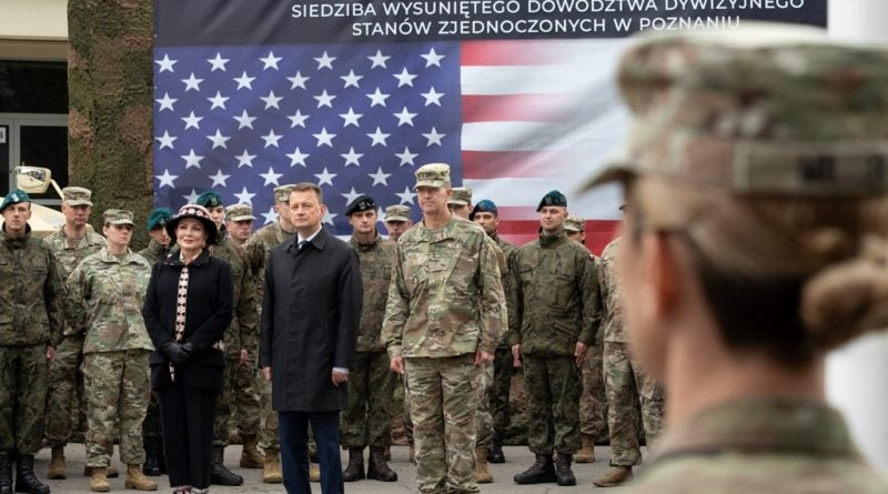 Poznań: Amerykanie już przyjechali do stolicy Wielkopolski