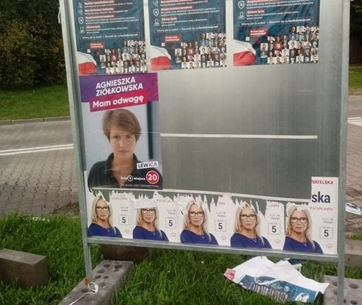 """a.ziolkowska 2 528x445 - Poznań: Wojna na plakaty wyborcze. """"Brak świadomości naszych potencjalnych parlamentarzystów"""""""