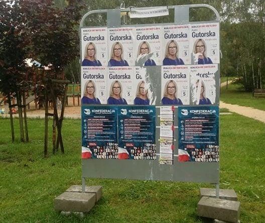 """a.ziolkowska 4 528x445 - Poznań: Wojna na plakaty wyborcze. """"Brak świadomości naszych potencjalnych parlamentarzystów"""""""