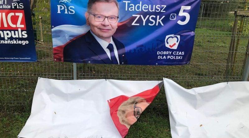"""banner fot. a.wachowska kucharska 800x445 - Poznań: Wojna na plakaty wyborcze. """"Brak świadomości naszych potencjalnych parlamentarzystów"""""""