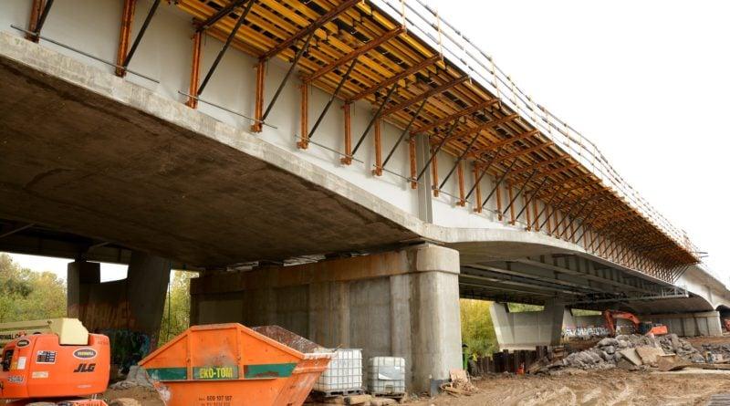 budowa mostu Lecha fot. UMP