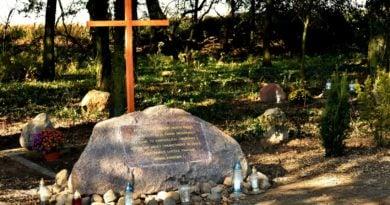 cmentarz ewangelicki 3 fot.tzp  390x205 - Pobiedziska: Cmentarz ewangelicki w Gorzkim Polu uporządkowany i upamiętniony