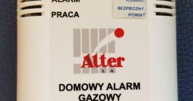 czujka 1 fot. pp 390x205 - Kalisz: Ofiara zatrucia tlenkiem węgla trafiła do szpitala