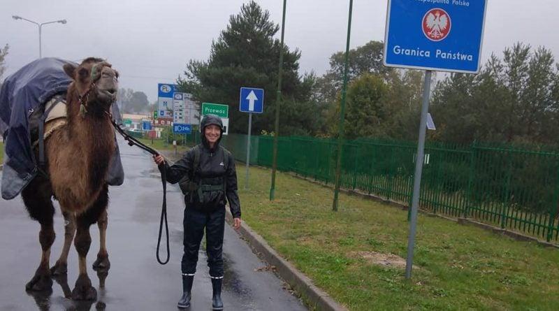 Edmee i Attika na polskiej granicy fot. FB Edmee