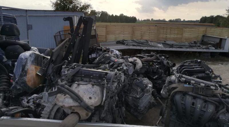 konin dziuple4 fot. kwp 800x445 - Konin: Kryminalni zlikwidowali kilkanaście dziupli samochodowych