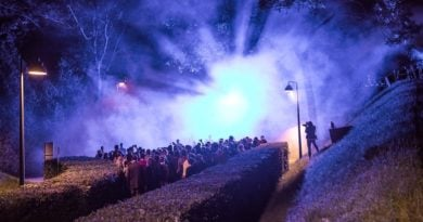 noc i mgla 390x205 - Poznań: Spektakl  interdyscyplinarny w Forcie VII