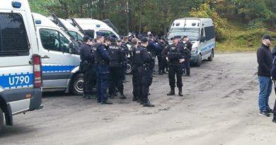obława policji fot. policja