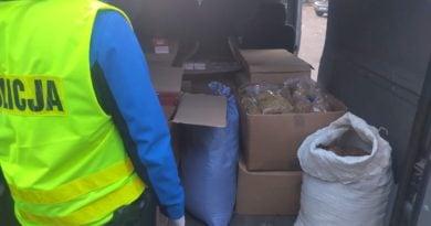 papierosy policja fot. kwp 390x205 - Krotoszyn: Papierosy bez akcyzy warte... 260 tysięcy złotych