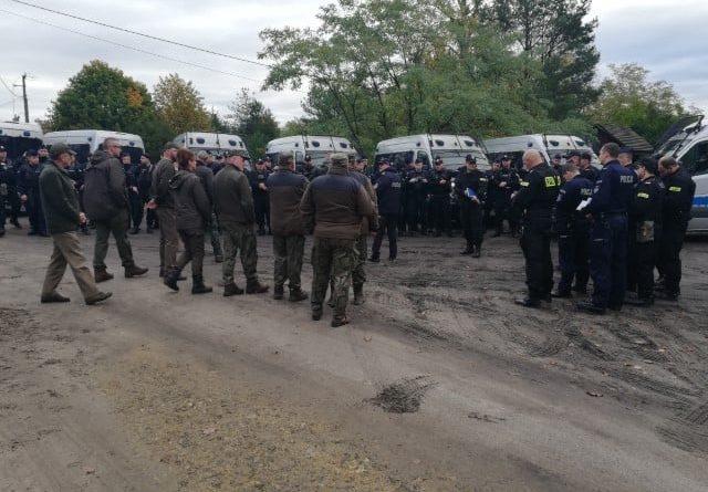 Poszukiwania Jacka D.4 fot. Policja Międzychód
