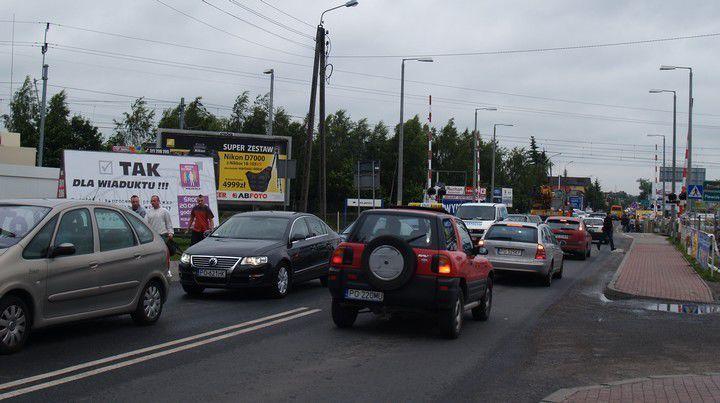 przejzd kolejowy junikowo - Poznań: Protest jednego mieszkańca blokuje budowę tunelu na Junikowie