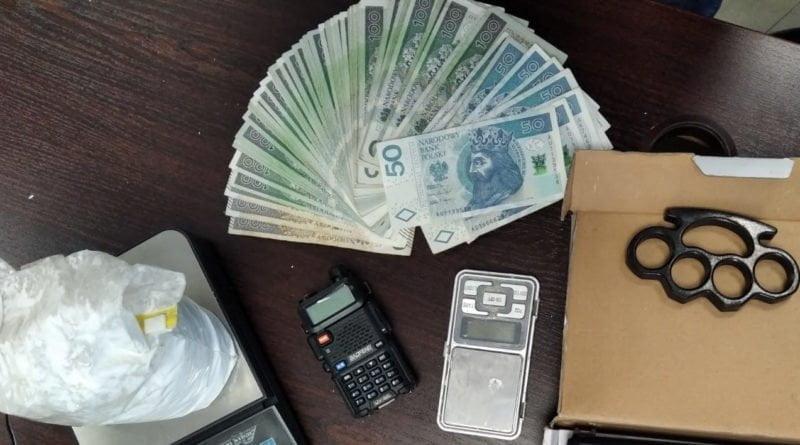 rzeczy znalezione podczas przeszukania fot. policja