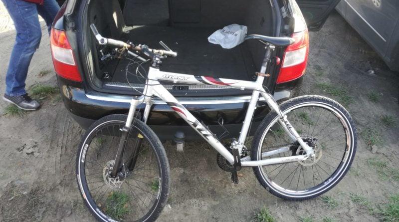 skradziony rower, fot. policja Czarnków