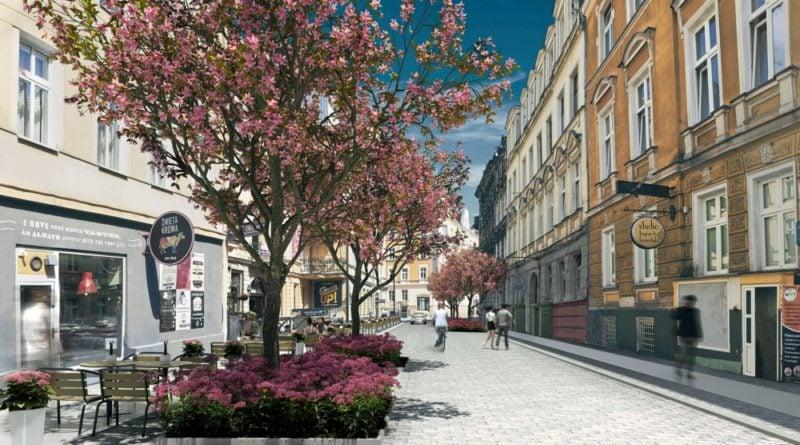 ulica Kwiatowa wizualizacja fot. ZDM (2)