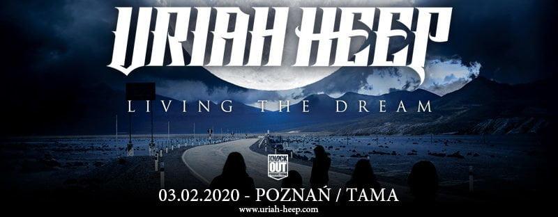 Poznań: Uriah Heep wystąpi w Tamie