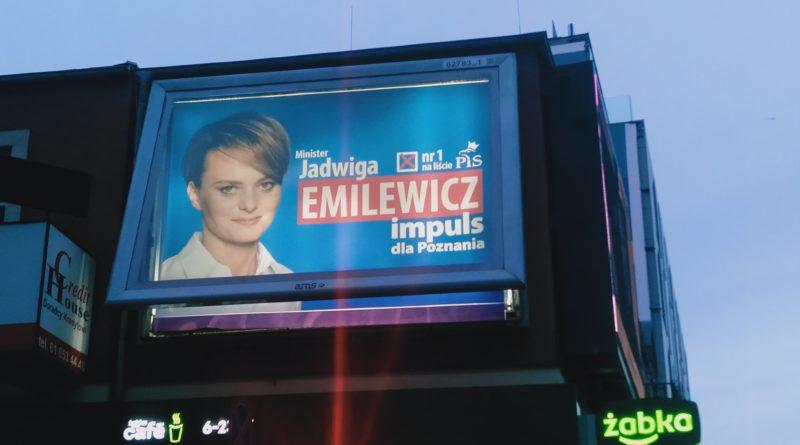uszkodzony plakat wyborczy fot. czytelniczka (1)