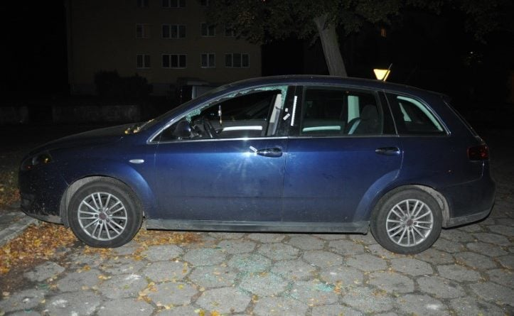 włamania do samochodów fot. KPP Międzychód