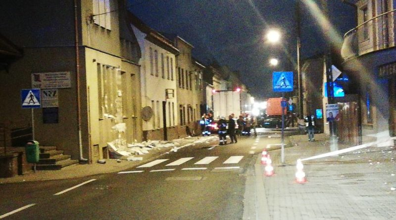 wypadek dk 32 fot. OSP Rakoniewice