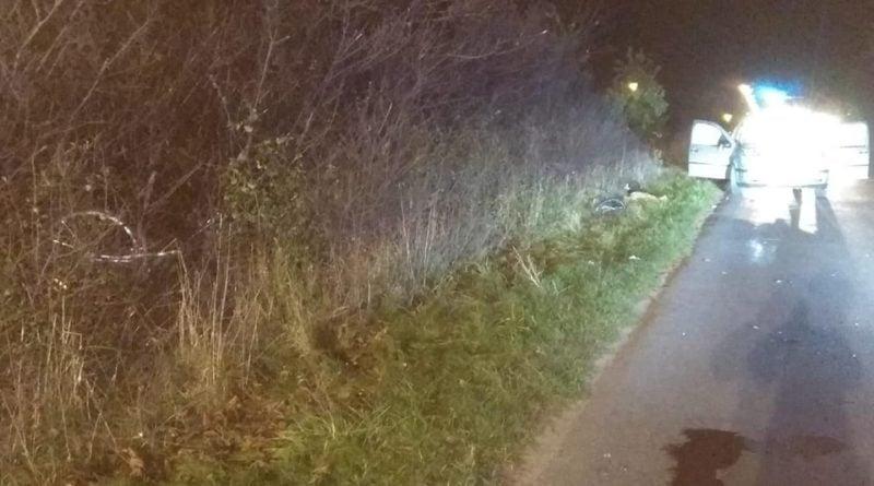 wypadek slesin 4 fot. kmp konin 800x445 - Konin: Śmierć rowerzystki pod Ślesinem