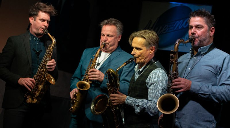 artvark saxophone quartet fot. slawek wachala 0702 800x445 - Artvark Saxophone Quartet na pierwszym koncercie w Polsce