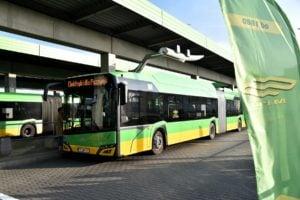 autobus elektryczny fot. UMP
