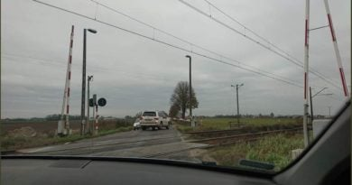 awaria rogatek koło Leszna fot. twitter Kościan na sygnale