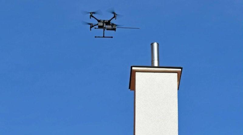 Badanie dronem 3 fot. UMP