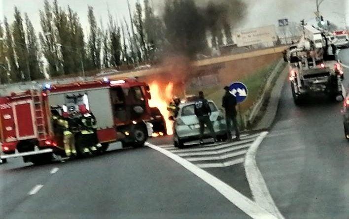 BMW pożar 2 fot. Krzysztof